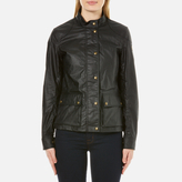 Belstaff Women's Longham Waxed Cotton Jacket Black
