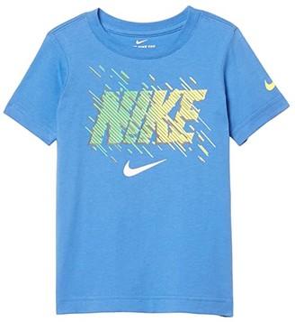 Nike Kids Short Sleeve Motion Logo Graphic T-Shirt (Little Kids) (Pacific Blue) Boy's Clothing