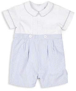 Florence Eiseman Baby Boy's Seersucker Shortall