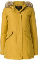 Woolrich lined hood coat