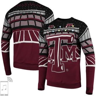 Men's Maroon Texas A&M Aggies Bluetooth Light Up Sweater