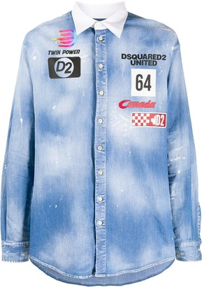 DSQUARED2 Twin Power denim shirt