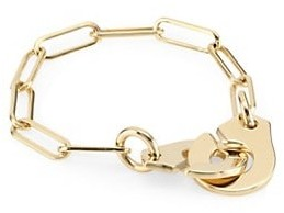 Dinh Van Menottes 18K Yellow Gold Chain Ring