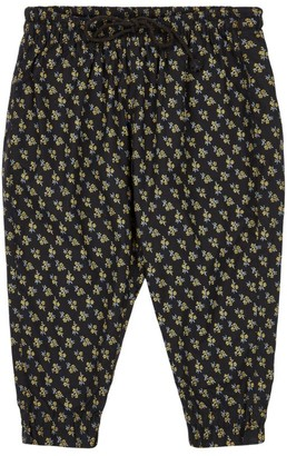 Caramel Floral Trousers (8-12 Years)