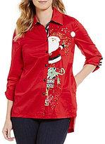 Berek Sneaking Santa Christmas Shirt