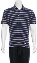 Michael Bastian Striped Polo Shirt