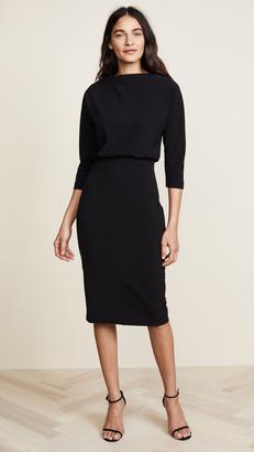 Badgley Mischka Long Sleeve Dress