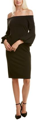 Eliza J Off-The-Shoulder Shift Dress