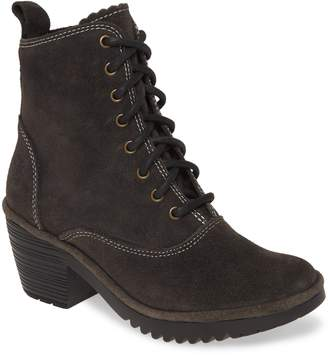 Fly London Wune Lace-Up Bootie