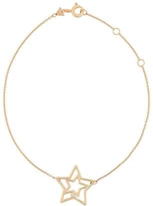 ALIITA 9kt yellow gold diamond Estrella Brillante bracelet
