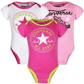 Converse Baby Girls 0-24m Boxed Gift Set Bodysuit,3-6 Months (Manufacturer Size:3-6M)
