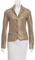 Missoni Wool-Blend Houndstooth Jacket