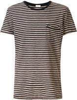 OSKLEN striped short sleeve T-shirt - men - Cotton - P