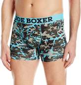 Joe Boxer Men's Electric Avenue Novelty Fitted Boxer