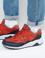 New Balance 580 Sneakers In Red Mrt580xr