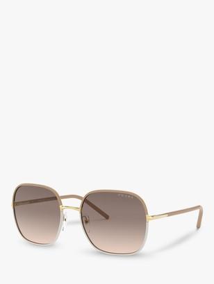 Prada PR 67XS Women's Square Sunglasses