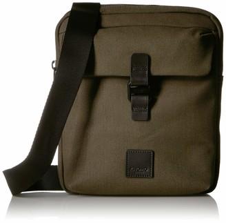 Knomo Fulham Tilton X-Body bag - Dark Green