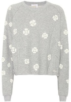 Chloé Floral-printed cotton sweatshirt
