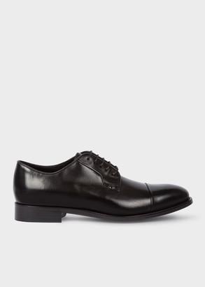 Paul Smith Men's Black Parma Leather 'Ernest' Shoes