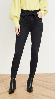 Alice + Olivia Good High Rise Skinny Jeans
