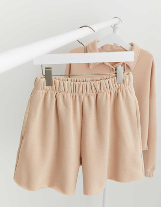 aerie Fleece-Of-Mind High Waisted Short