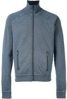 DSQUARED2 zip-up long sleeved fleece