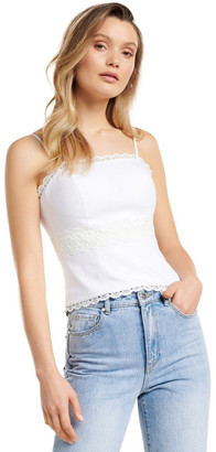 Forever New Christiana Lace Trim Bustier