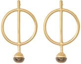 Botkier Bar & Ring Stud Earrings