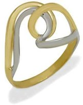 Tatitoto Only Gold Women's Ring in 18k Gold, Size 8.5, 5 Grams