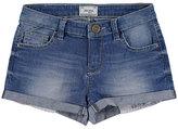 Mayoral Light Wash Stretch Denim Shorts, Medium Blue, Size 8-16