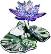 Swarovski Collectible Figurine, Blue Violet Waterlily