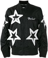 Kokon To Zai star appliqué bomber jacket - unisex - Polyester - L