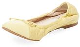LK Bennett Cheri Quilted Cap-Toe Ballet Flat