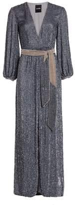 retrofete Margarita Sequin Maxi Dress