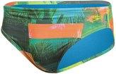 Speedo Men's Palms Printed Swim Brief Swimsuit 8138501