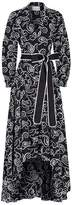 Alexis Embroidered Monochrome Gown