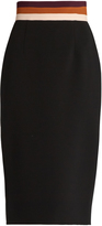 Roksanda Yukio contrast-waistband pencil skirt