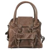 Chloé Brown Leather Handbag Edith