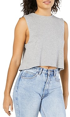 Beyond Yoga Over The Top Muscle Crop Top