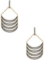 Rebecca Minkoff Curve Chandelier Earrings