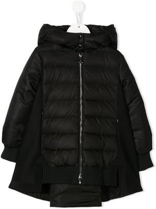 Moncler long padded jacket