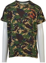 Off-White Camouflage Print T-shirt
