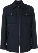 Lanvin flap pocket jacket - men - Cotton/Polyester/Viscose/Virgin Wool - 48