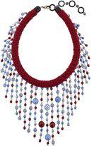 Sharra Pagano Milano Beaded Fringe Necklace For Lvr