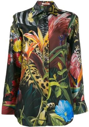 Roberto Cavalli Heritage Jaguar Shirt