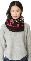 Marc Jacobs Dotted Leopard Stole Scarf