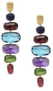 Marco Bicego Murano Multi-Stone & 18K Gold Earrings