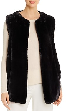 Capote Faux Fur Vest