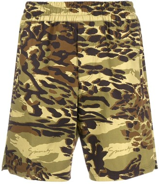 Givenchy Spirit Camouflage shorts