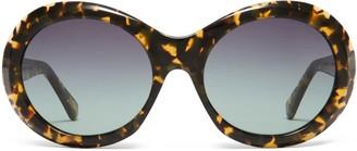 Oliver Goldsmith Sunglasses Audrey 1963 Olive Tortoiseshell